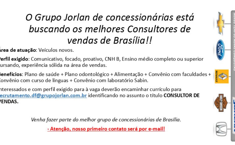 [GEBE Empregos] 03 VAGAS: Consultores, Estoquista PCD – 11/12