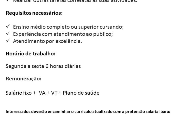 [GEBE Oportunidades] CONSULTOR TELEOPERADOR – 31/01