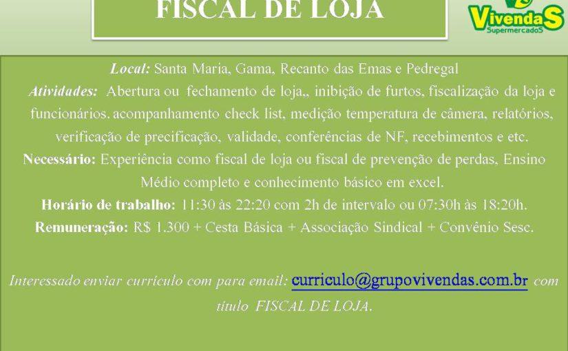 [GEBE Oportunidades] FISCAL DE LOJA-SUPERMERCADOS