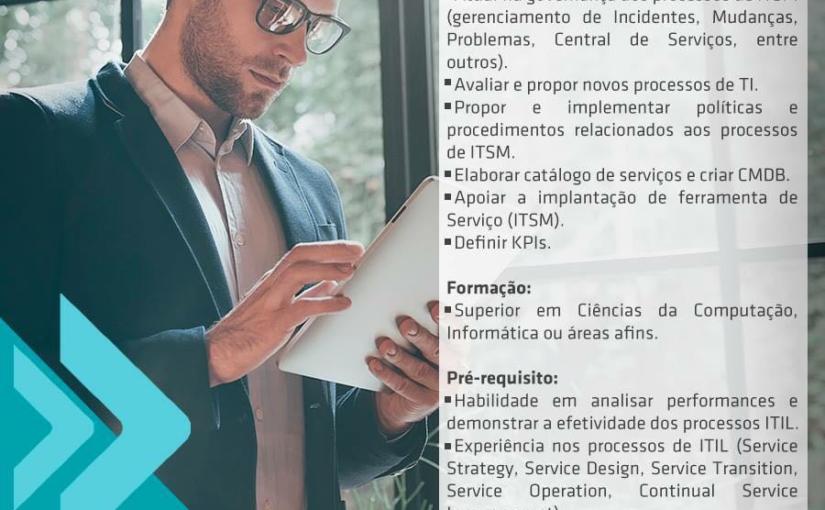 [ClubInfoBSB] Cabal Contrata: Analista ITSM